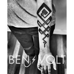 My unalome tattoo by Ben Volt. abstract geometric modernist take on an ancient buddhist symbol that represents the path to enlightenment. benvolt. Scholar Tattoo, San Francisco, CA. Benvolt