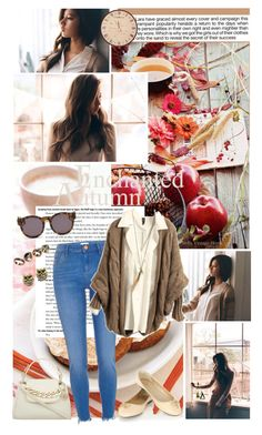 """""""Autumn day 🍁"""" by ita-varela ❤ liked on Polyvore featuring Industrie, River Island, Oasis, DKNY, ALDO, Alcozer & J and Blanc & Eclare"""
