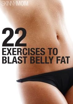 22 exercises to blast belly fat