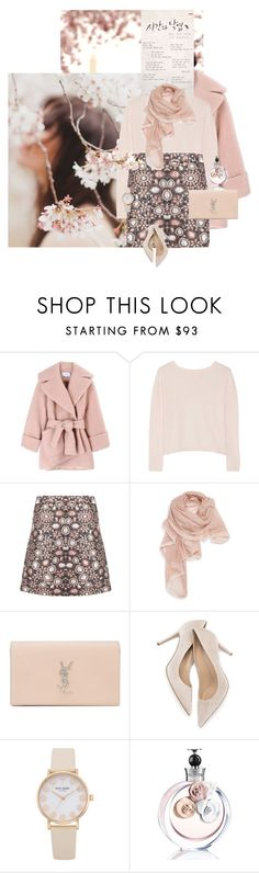 """""""Sophrosyne"""" by chebear ❤ liked on Polyvore featuring Carven, Banjo & Matilda, Alice + Olivia, La Fiorentina, Yves Saint Laurent, Valentino and springscent"""