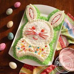 Happy #Bunny #Cake from Pillsbury® Baking #Easter