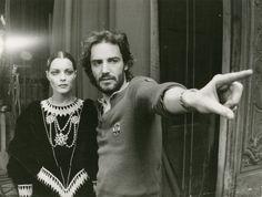 """Ο Ζουλάφσκι με τη Ρόμυ Σνάϊντερ στα γυρίσματα του """"Σημασία έχει ν' αγαπάς'"""