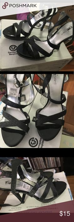NWT Black heels Never worn, were too small for me Shoes Heels