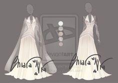 :: Adoptable Platinum Outfit: CLOSED :: by VioletKy.deviantart.com on @DeviantArt