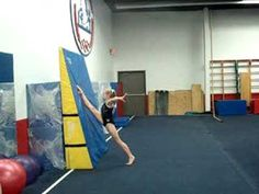 Drills and ideas for teaching split leaps to gymnasts | Swing Big!
