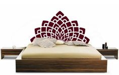 Elegant Headboard Wall Decal Elegant Headboard Wall Decal – A bed without a headboard is strange because it's like the bed is incomplete right?