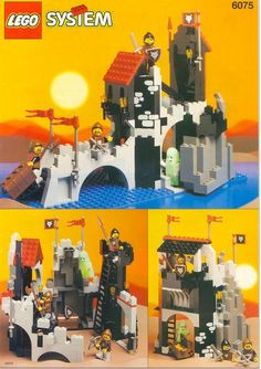 6075-1: Wolfpack Tower | 1992 I want this one. Back in the day it was my favorite.