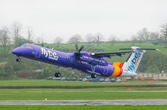 Flybe Q400 aircraft