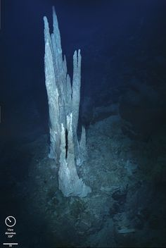 """Did life on Earth begin at hot-water vents on the sea floor? By EarthSky Atlantic Ocean limestone towers known as the """"Lost City."""" Alkaline hydrothermal vents  are suggested to be the birthplace of the first living organisms on the ancient Earth. Scientists are interested in understanding early life on Earth because if we ever hope to find life on other worlds –  with subsurface oceans such as Jupiter's Europa and Saturn's Enceladus Image - D. Kelley and M. Elend/University of Washington"""