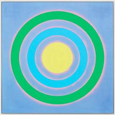 Mysteries: Tide, 2002 by Kenneth Noland on Curiator, the world's biggest collaborative art collection. Ring Around The Moon, Kenneth Noland, Abstract Art Images, Hard Edge Painting, Digital Museum, Geometric Circle, Helen Frankenthaler, Colour Field, Collaborative Art