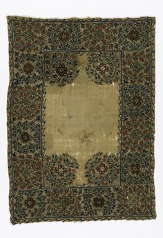 EMBROIDERY (GREECE), LATE 19TH CENTURY 19th Century, Objects, Arts And Crafts, Textiles, Traditional, Embroidery, Fabric, Prints, Turkish Style