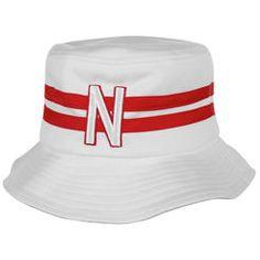 Top of the World Nebraska Cornhuskers Gilligan Bucket Hat - White