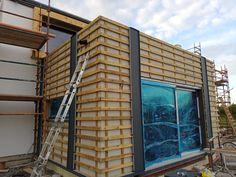 Metal Cladding, Modern Barn, Metal Roof, Multi Story Building