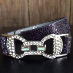 Chloe & Isabel bow wrap bracelet Chloe & Isabel wrap bracelet with rhinestone bow! Chloe + Isabel Jewelry Bracelets
