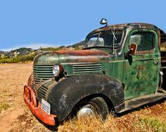 Dodge Ram Vintage Dodge Vintage Truck Old by AroundTheGlobeImages