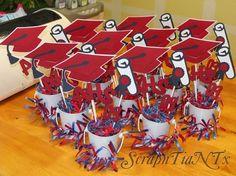 Graduation Party Centerpieces graduation centerpiece ideas | tags: easy centerpiece , graduation