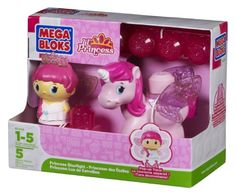 $7.49 Mega Bloks Inc First Builders - Lil Princess Starlight. Riding a magical white flying horse, Princess Starlight is waiting to wing her way to the Sparkling Princess Castle.Product Measures:Recommended Ages: 1 - 5 years