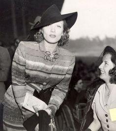 Marlene Dietrich and Barbara Stanwyck