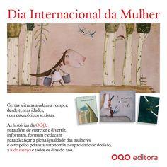 Dia Internacional da Mulher - 8 março.