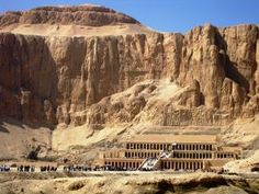The mortuary temple of Queen Hatshepsut, Egypt. Photo by Alex Bruda