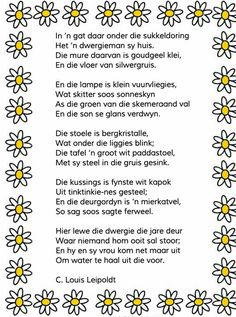 Afrikaans Quotes, Kids Learning, Poems, Grade 3, South Africa, Worksheets, Homeschool, Language, Classroom