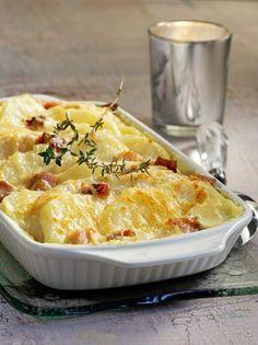 Γκρατέν με πατάτες, σελινόριζα και σύγκλινο - www.olivemagazine.gr Macaroni And Cheese, Cooking Recipes, Vegetables, Eat, Ethnic Recipes, Food, Mac And Cheese, Chef Recipes, Essen