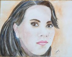 My gorgeous niece Teffy! Watercolours, Art, Art Background, Kunst, Performing Arts, Art Education Resources, Artworks