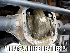 Diff breather is important!
