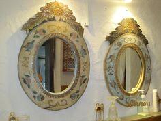 Preciosos espejos vintage.