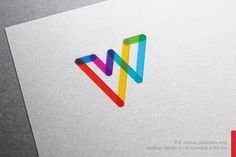 Abstract Letter W Logo Templates **Awesome Logo Design Template** you can use this logo for any business.This design has **EXTENDED by nospacestore Logo Design Template, Logo Templates, Lettering Design, Branding Design, Branding Ideas, Logo Dulce, Logos Photography, Logos Vintage, W Logos