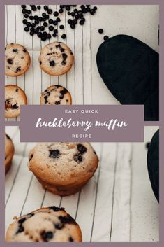 easy recipe for muffins chocolate chip, fruit, huckleberry, positively oakes soft muffin recipe that's easy and quick