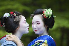 Mamefuji and Mikako, June 2015