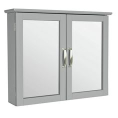 Buy Argos Home New Tongue and Groove Mirrored Wall Cabinet -Grey at Argos. Thousands of products for same day delivery or fast store collection. Grey Bathroom Cabinets, Gray Bathroom Walls, Mirror Cabinets, Grey Cabinets, Grey Bathrooms, Bathroom Furniture, Natural Bathroom, Tongue And Groove, Argos