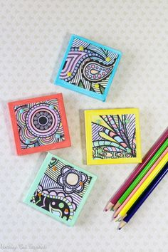 So many fun craft projects can be made from the designs of ...