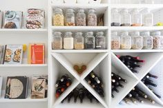 Retail design has something to teach us, according to this pantry. It turned out pretty dreamy, so listen up.