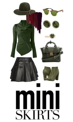"""""""Green Gold Victorian Casual Chic"""" by madteapartydl ❤ liked on Polyvore featuring Serge Lutens, Mairi Mcdonald, Michael Antonio, 3.1 Phillip Lim, 1928, Pomellato, Ray-Ban, RHYTHM, casual and casualoutfit"""