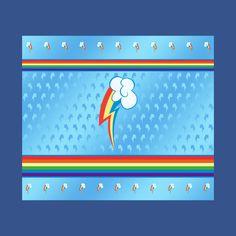 Awesome 'My+little+Pony+-+Rainbow+Dash+Cutie+Mark+V4' design on TeePublic!