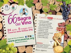 COOP Casarsa | Notizie | IL PROGRAMMA DELLA SAGRA DEL VINO, SOSTENUTA DA COOP CASARSA