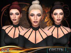 Sims 4 CC's - The Best: Hair Kristen by Ade_Darma