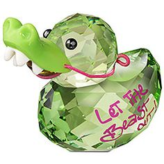 Happy Duck - Crocodile Duck | Swarovski
