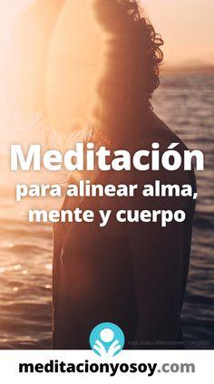 ✅ Nada puede salir mal cuando nuestros #pensamientos, #sentimientos y acciones están sincronizados. #meditación #meditar #meditaciones #mindfulness Paz Interior, Zen, Pranayama, Qigong, Mind Body Soul, Tai Chi, Ayurveda, Audio Books, Health Tips
