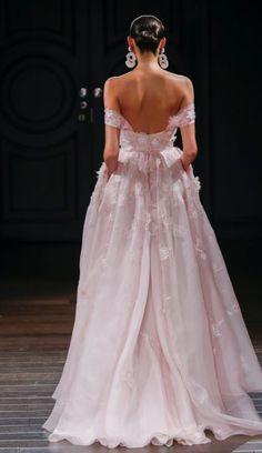 Featured Dress: Naeem Khan; Wedding dress idea.