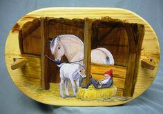 Sleeping Nisse Norwegian Tine Box by Harmonycraft on Etsy, $80.00