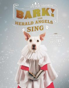Bark! The Herald Angels Sing: Or, How a Dog Becomes a Christmas Card by Peter Thorpe, Countryman Press (Hardback) Autumn 2016   Peter Thorpe
