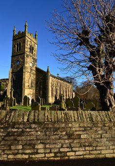 St David Church, Holmbridge, England