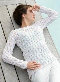 Mag. 171 #23 Openwork sweater