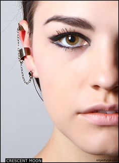 triple ear cuff  At Edge of Urge by artist Jessie yeager!