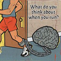 Train Your Brain.knowing how you think on the run can improve your workouts, and your mood. Run Like A Girl, Just Run, Girls Be Like, Train Your Brain, How To Train Your, Running Workouts, Running Tips, How To Run Faster, How To Run Longer