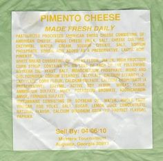 The Unofficial Masters Pimento Cheese Sandwich Recipe