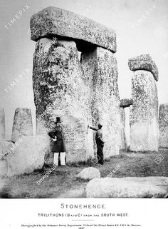The Nephilim Chronicles: Fallen Angels in the Ohio Valley: Photographic Essay of Stonehenge Ancient Myths, Ancient Aliens, Ancient History, Local History, British History, History Facts, Old Pictures, Old Photos, Stonehenge History